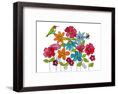 Addison's Garden-Blenda Tyvoll-Framed Art Print