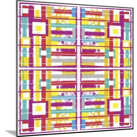 Boxes and Stripes-Deanna Tolliver-Mounted Giclee Print