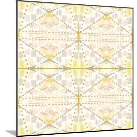 Earthy Dots and Squares-Deanna Tolliver-Mounted Giclee Print