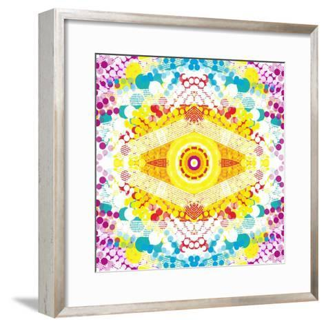 Flower Power-Deanna Tolliver-Framed Art Print