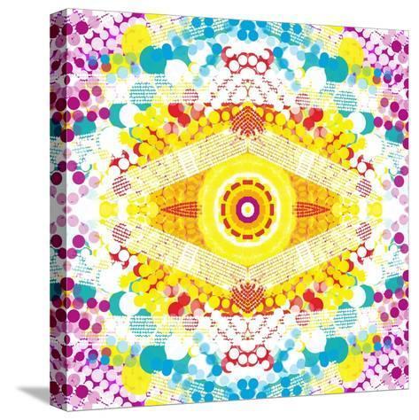 Flower Power-Deanna Tolliver-Stretched Canvas Print