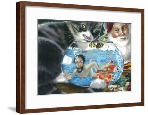 Caught-Denny Bond-Framed Art Print