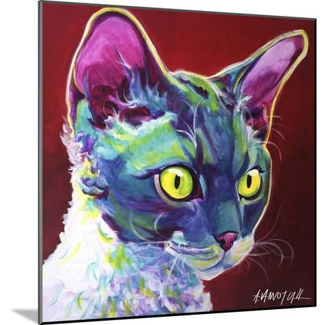 Cat - Devon Rex-Dawgart-Mounted Giclee Print