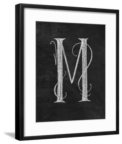 M Curly Chalk Capital-CJ Hughes-Framed Art Print