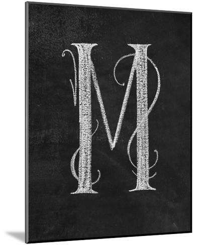 M Curly Chalk Capital-CJ Hughes-Mounted Giclee Print