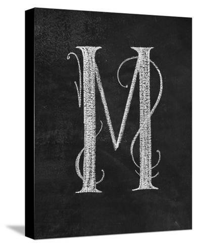 M Curly Chalk Capital-CJ Hughes-Stretched Canvas Print
