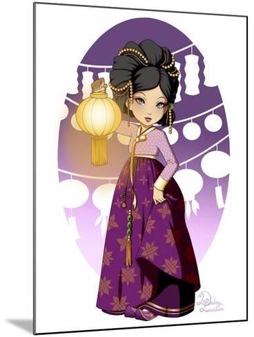 Purple Festival- Dalliann-Mounted Giclee Print