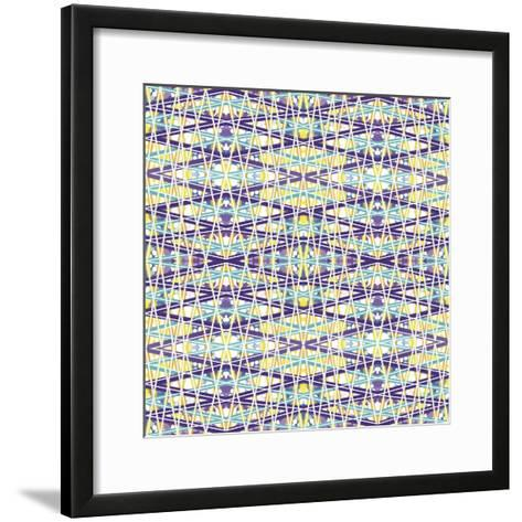 Zig Zag Overlay-Deanna Tolliver-Framed Art Print