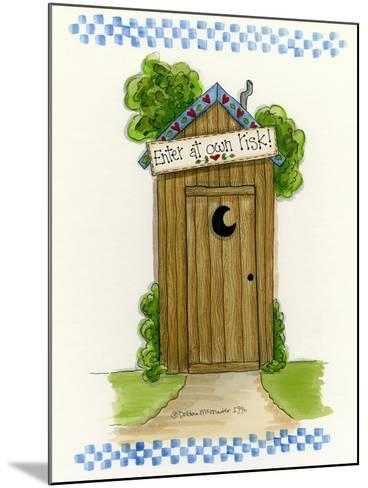 Enter at Your Own Risk-Debbie McMaster-Mounted Giclee Print