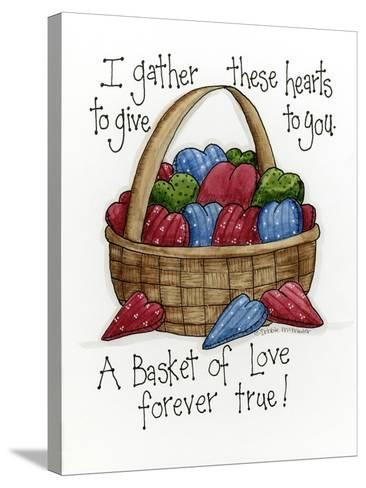 I Gather These Hearts-Debbie McMaster-Stretched Canvas Print