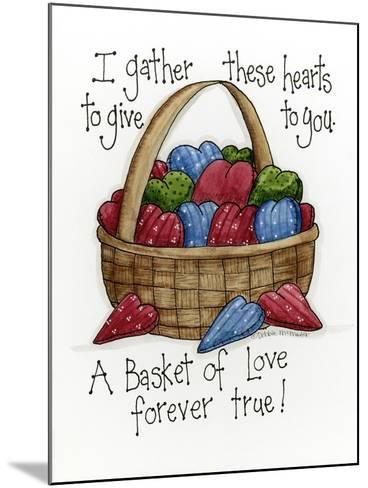 I Gather These Hearts-Debbie McMaster-Mounted Giclee Print