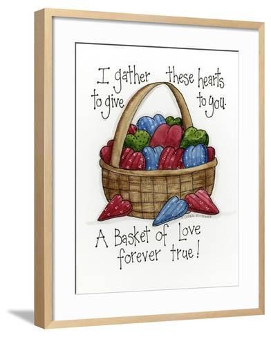 I Gather These Hearts-Debbie McMaster-Framed Art Print