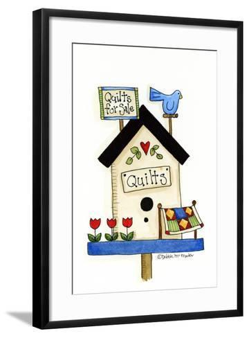 Quilts for Sale-Debbie McMaster-Framed Art Print