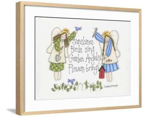 Garden Angels-Debbie McMaster-Framed Art Print