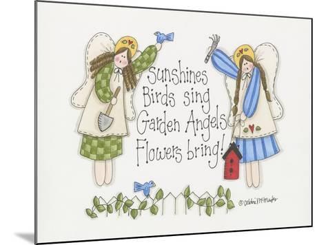 Garden Angels-Debbie McMaster-Mounted Giclee Print