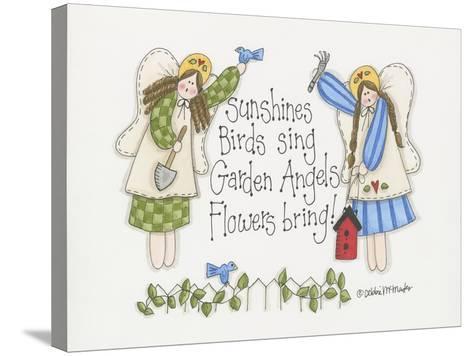Garden Angels-Debbie McMaster-Stretched Canvas Print