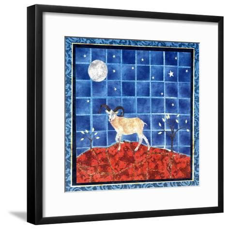 Mountain Goat-David Sheskin-Framed Art Print