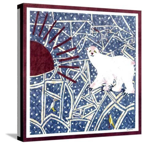 Polar Bear-David Sheskin-Stretched Canvas Print