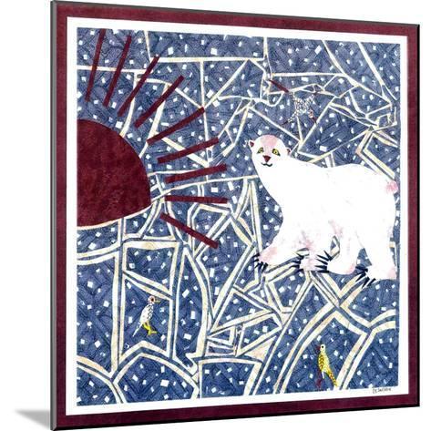 Polar Bear-David Sheskin-Mounted Giclee Print