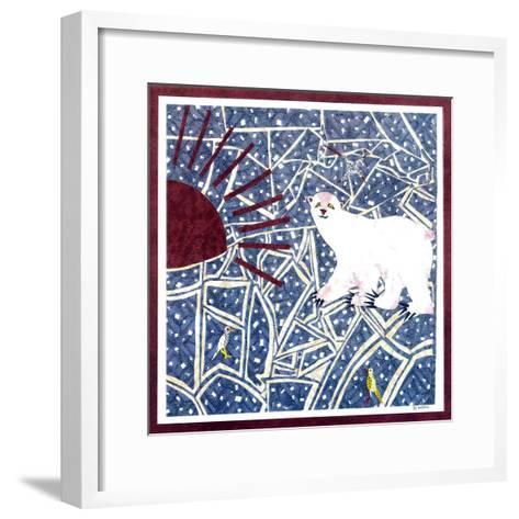 Polar Bear-David Sheskin-Framed Art Print