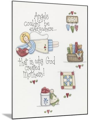 God Created Mothers-Debbie McMaster-Mounted Giclee Print