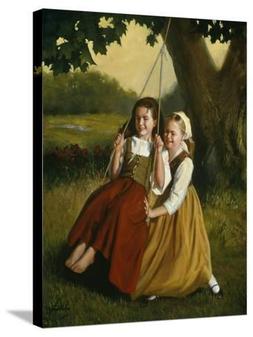 Friendship-David Lindsley-Stretched Canvas Print