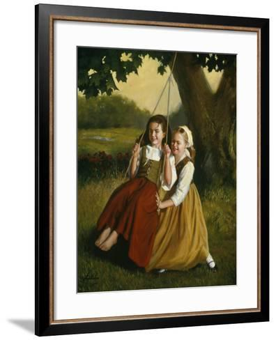 Friendship-David Lindsley-Framed Art Print