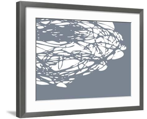 Brighter Nest Grey White-Christine O'Brien-Framed Art Print