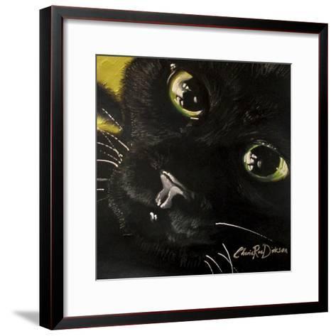 Cat's Eyes-Cherie Roe Dirksen-Framed Art Print