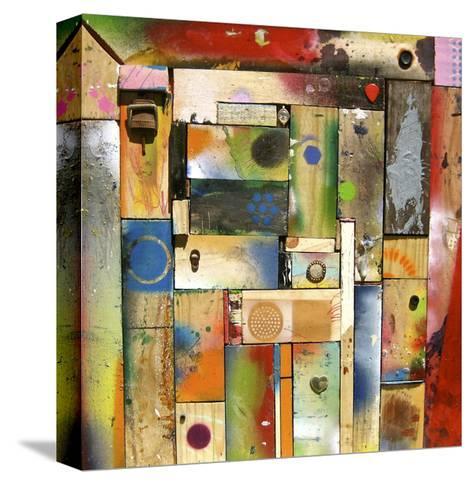 Chargalls Puzzle-David Spencer-Stretched Canvas Print