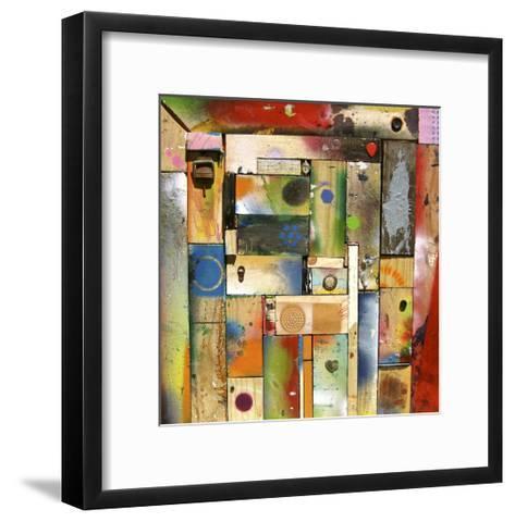 Chargalls Puzzle-David Spencer-Framed Art Print