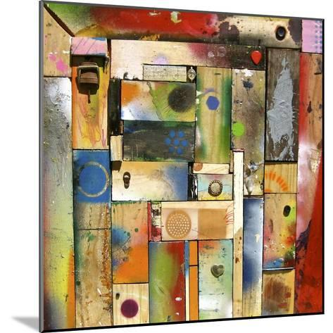 Chargalls Puzzle-David Spencer-Mounted Giclee Print