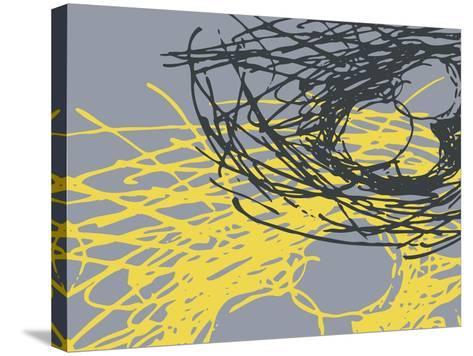 Brighter Nest Grey-Christine O'Brien-Stretched Canvas Print