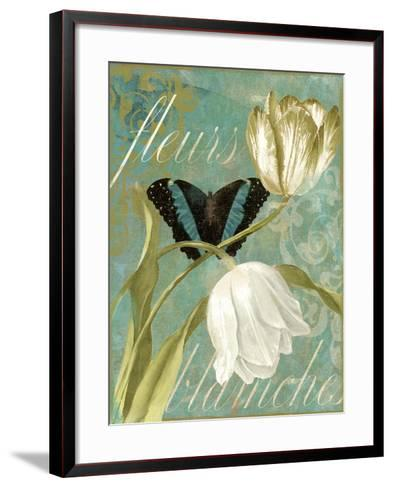 White Tulips-Color Bakery-Framed Art Print