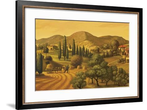Tuscan Landscape-Dan Craig-Framed Art Print