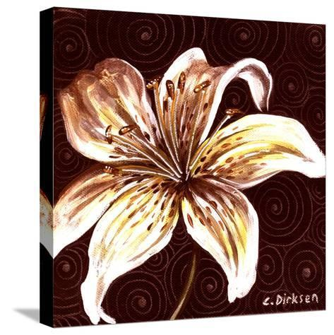 Tiger Lily 2-Cherie Roe Dirksen-Stretched Canvas Print