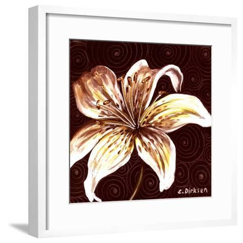 Tiger Lily 2-Cherie Roe Dirksen-Framed Art Print