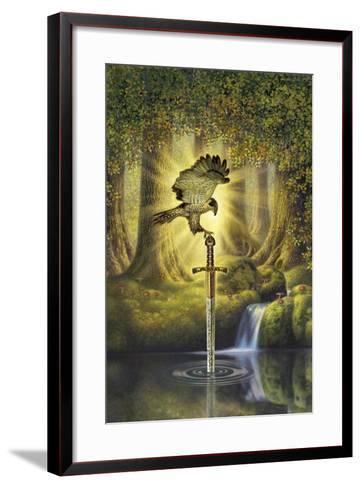The Telling Pool-Dan Craig-Framed Art Print