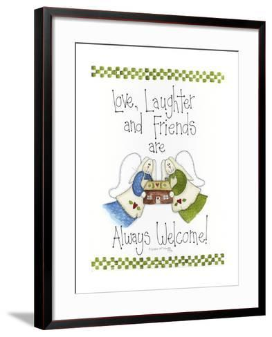 Love, Laughter and Friends-Debbie McMaster-Framed Art Print