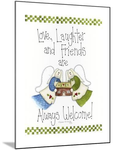 Love, Laughter and Friends-Debbie McMaster-Mounted Giclee Print