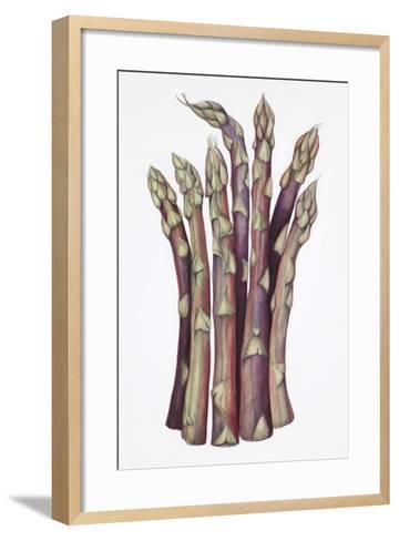 Asparagus-Deborah Kopka-Framed Art Print