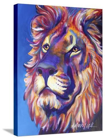 Lion - Cecil-Dawgart-Stretched Canvas Print
