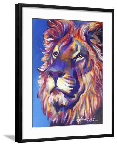 Lion - Cecil-Dawgart-Framed Art Print