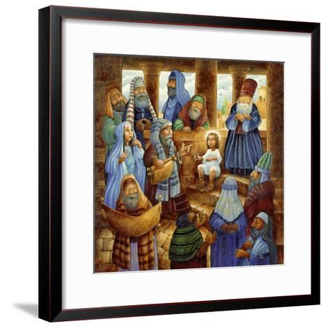 JC in Temple-Bill Bell-Framed Art Print