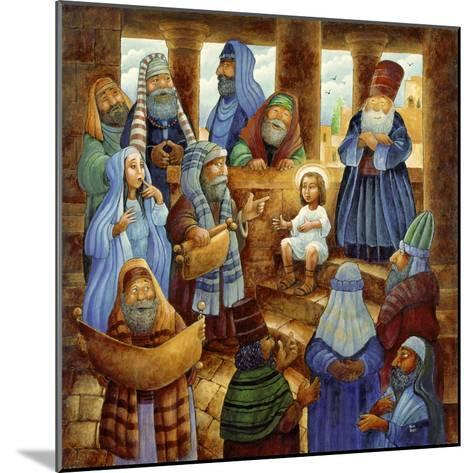 JC in Temple-Bill Bell-Mounted Giclee Print
