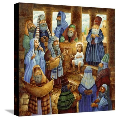 JC in Temple-Bill Bell-Stretched Canvas Print