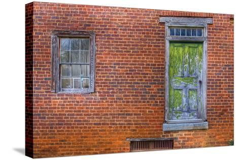 Window and Door-Bob Rouse-Stretched Canvas Print