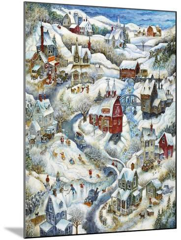 Country Winter-Bill Bell-Mounted Giclee Print