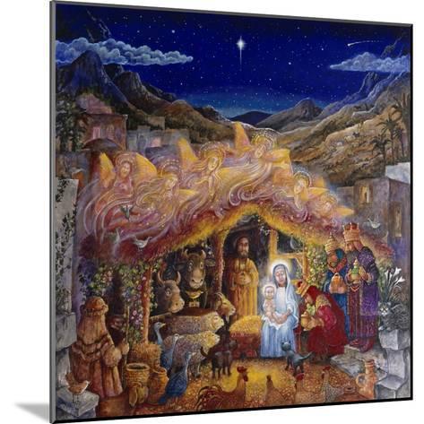 Nativity-Bill Bell-Mounted Giclee Print