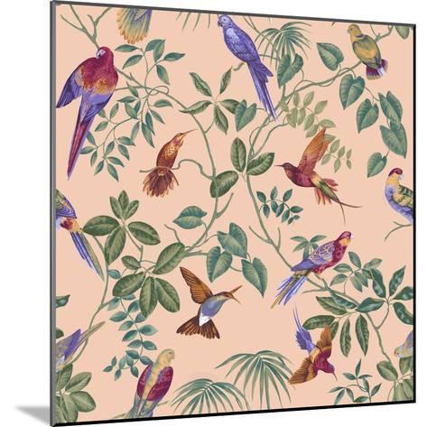 Aviary Final Blush-Bill Jackson-Mounted Giclee Print